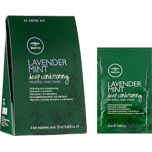 Tea Tree Lavender Mint Deep Conditioning Mineral Hair Mask x6