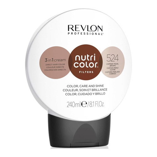 Nutri Color filters 524 Coppery Pearl Brown